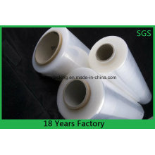 Gute Zugfestigkeit feuchtigkeitsfest Kunststoff LLDPE Stretchfolie
