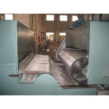 Apple slice continuous conveyor belt drying machine