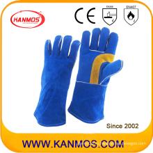 Подлинная натуральной кожи промышленной безопасности сварки рабочие перчатки (11110)