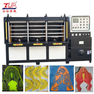 PU Shoes Skin Press Making Machine