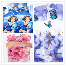 cheap and good quality printed cotton fabric