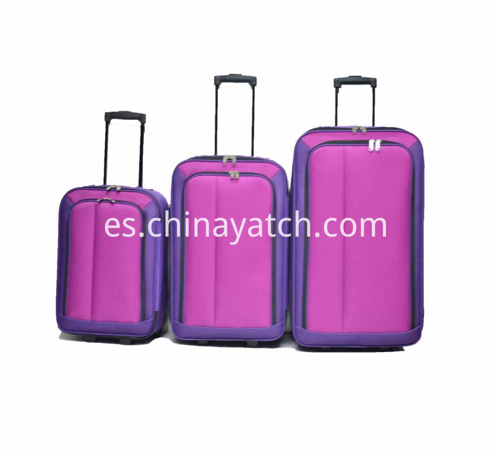 3pcs Travel Trolley Luggage