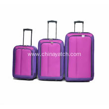 3 Pieces Carry on Travel Trolley Luggage