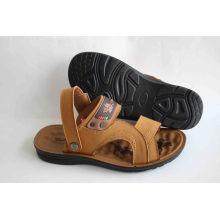 Мягкие удобные пляжные сандалии для мужчин с латексной стелькой (SNB-14-007)