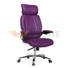 First Quality High Back Metal Leg Adjustable Office Chair (HY-380A)