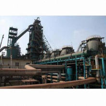 Blast furnace for steel making industry only at customer's design, not for immediate sale