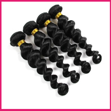 unprocessed full cuticle 8a virgin brazilian hair crochet hair extension deep wave hairs