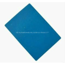 Неасбестовый лист Нестандартный синий