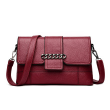 Soft leather shoulder bags female hand bags