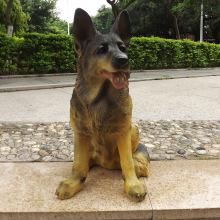 Lebensgroße Harz Big Dog Craft Dekoration