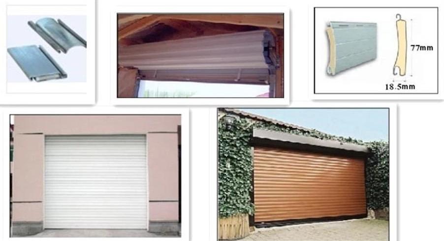 application of the shutter door