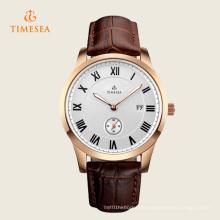 Mens einzigartige analoge Quarz wasserdichte Armbanduhr 72343
