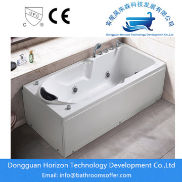 One-Piece Acrylic Freestanding Massage Bathtub