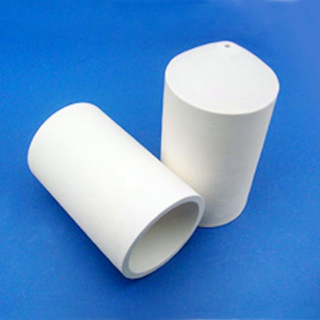 One end closed ceramic tube