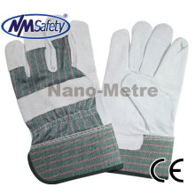 NMSAFETY high quality cheap leather safety glove for worker