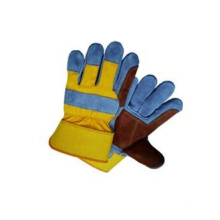 Cow Split Leather Double Palm Work Glove-3061.01