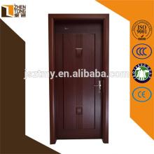 Portes en bois pleines qui respecte l'environnement, portes de traitement de surface d'impression de transfert de chaleur