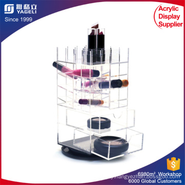 Acrylic Makeup Organizer, Beauty Display Rack, Plexiglass Cosmetic Display Case