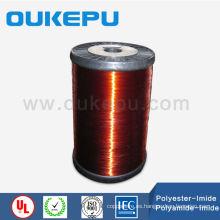 Alambre de cobre esmaltado alrededor del alambre de rebobinar para Motor eléctrico