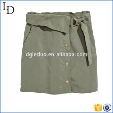 Falda corta formal de la falda del lápiz de la venta caliente