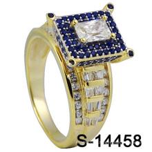 Новый дизайн Micro Pave Men Ring (S-14458)