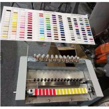 Máquina de cartão de cor de fios