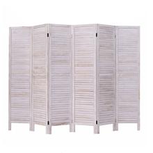 Separador de madera de sala de pantalla de madera tallada de plástico