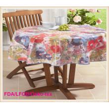 Padrão de Oko-Tex de toalha de mesa impressa PEVA / PVC