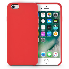 Soft silicone líquido caso iphone6 ​​plus