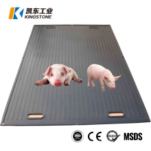 Anti Fatigue Animal Rubber Feed Saver Floor Mat for Pigs Swine Boar Sow