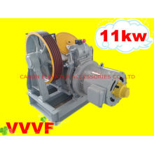 VVVF Geared Lift Motor Traction Machine