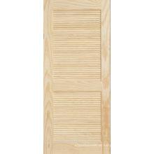 Porta de painel sustentável pinho plantação da grelha