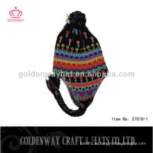 Sombreros de moda para niños de invierno