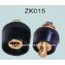 Разъем для подключения сварочного кабеля ZK015