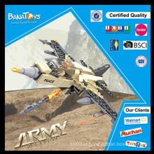 Oferta especial! 2015 Brinquedo da criança da boa qualidade que faz a máquina brinquedos do exército do brinquedo F16 do brinquedo do avião de combate com 208 pcs