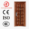 Egypt Steel Security Door Wood Color Room Door