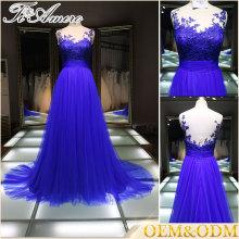 Alibaba Китай производство дамы кружева платье высокое качество фиолетовый кружева свадебное платье 2016 милая шику свадебное платье