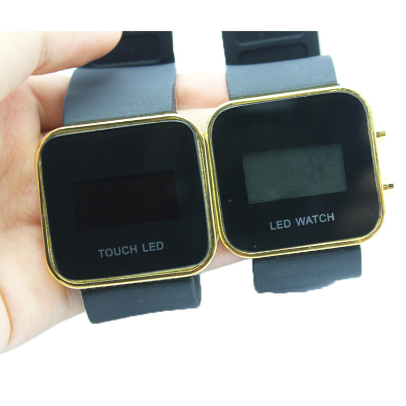 2015 Hot new Touch Screen LED watch electronic LED