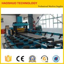 Línea de producción de radiador de panel de transformador