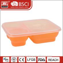 Récipient de nourriture maison multi clair utile compartiment