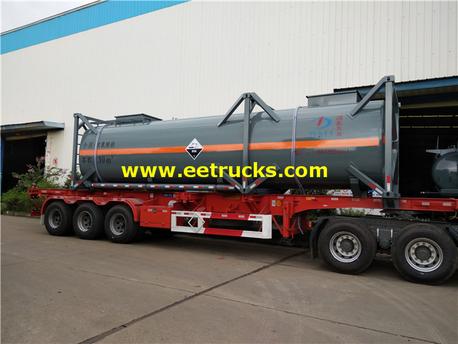 Sodium Hypochlorite Tanker Containers