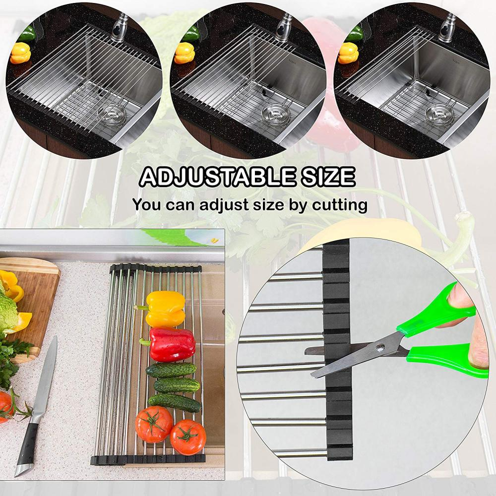 Multipurpose Stainless Steel Drain Rack