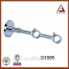 G1906 double curtain rod hook/plating luxury curtain hooks/metal curtain hooks