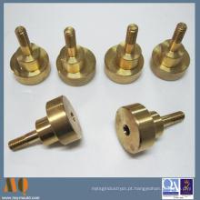 Precisão Custom CNC Turning Part, CNC Turned Latão Peças