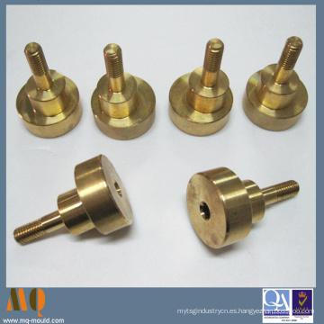 Pieza de torneado CNC de precisión de precisión, piezas de latón torneado CNC