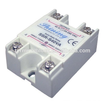 SSR-S40VA Panel Mount Industrial Single Phase Solid State Relay