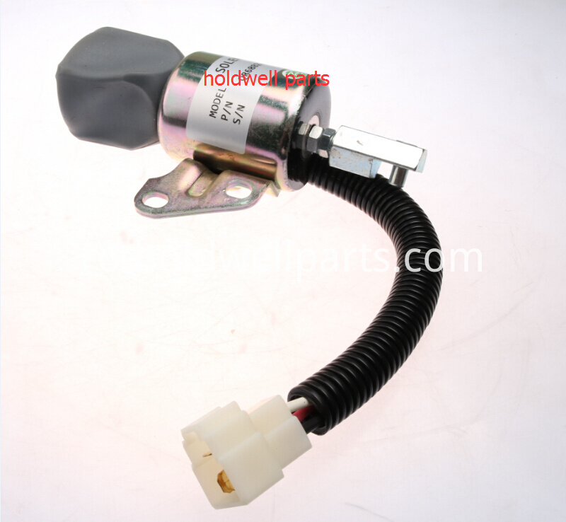 EXCAVATOR 12V Shut Down Solenoid 7000782 for Bobcat