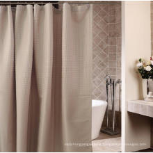 Hotel Bathroom Dobby Waterproof Processing Polyester Shower Curtain (WSSC-2016006)