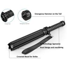 ultraviolet flashlight rechargeable with Emergency Hammer