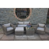modern rattan outdoor furniture set